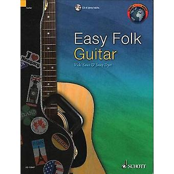Easy Folk Guitar  29 Traditional Pieces by Adapted by Vicki Swan & Edited by Jonny Dyer