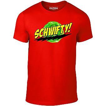 Mænd ' s schwifty t-shirt