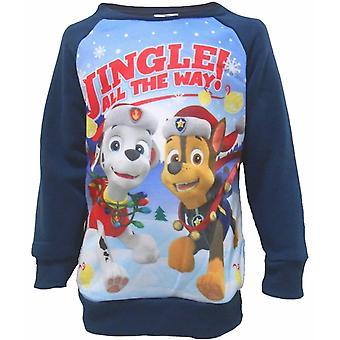 Paw Patrol langærmet sweater-Christmas sweater