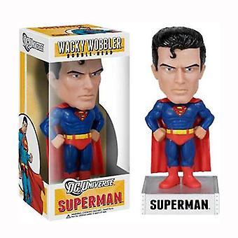 Superman Wacky Wobbler Bobble Head Figure Funko