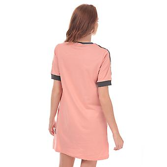 Womens adidas Originals Tee Dress In Trace Pink