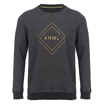 Animal Dano Sweatshirt in Steel Grey