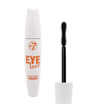 W7 Eye Love Hypoallergenic Mascara - Black