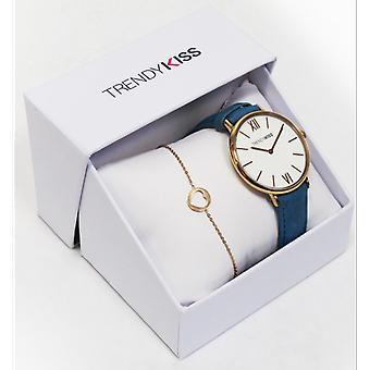 Box watch Trendy Kiss CTK-29 - shows Iris TRG10095-01U Dor Rose steel woman Bracelet