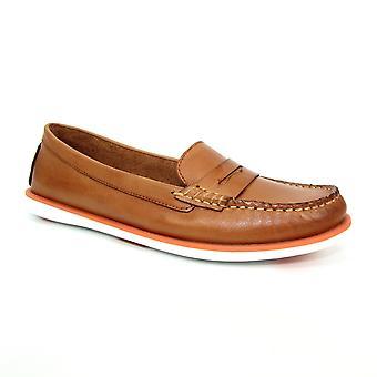 Lunar Manuela Leather Boat Shoe