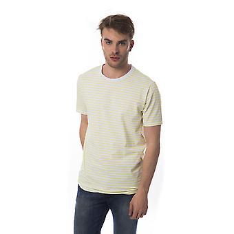 Beige Bagutta men's short-sleeved T-shirt