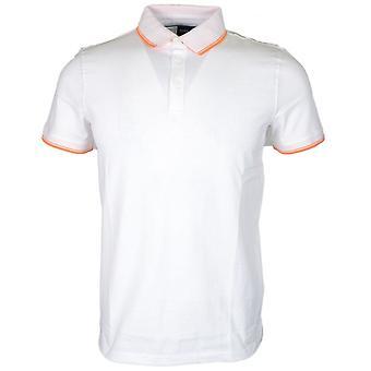 Hugo Boss Poltron lyhythihainen puuvilla valkoinen poolo paita