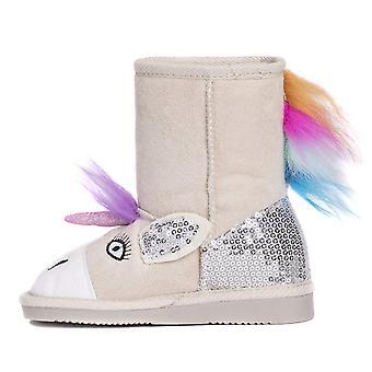 MUK LUKS Kids Luna Unicorn Boots Fashion