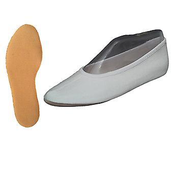 Turnen schoenen gemaakt van katoen met wit rubberen enige (GR 22-48)