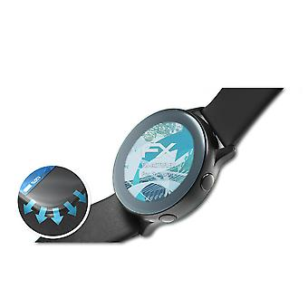 atFoliX 3x Protective Film compatible with Samsung Galaxy Watch Active 2 44mm clear&flexible