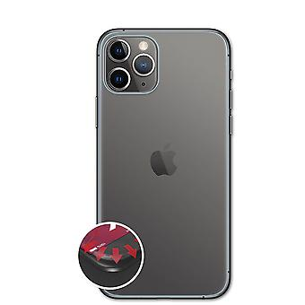 atFoliX 3x Protective Film compatible with Apple iPhone 11 Pro Backcover clear&flexible