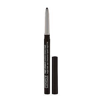 Clinique high impact custom black kajal 02 blackened brown