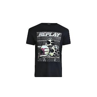 リプレイM37302660099ユニバーサルサマーメンTシャツ