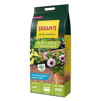 SERAMIS® plant granules for bed, balcony & Potted plants, 6 litres