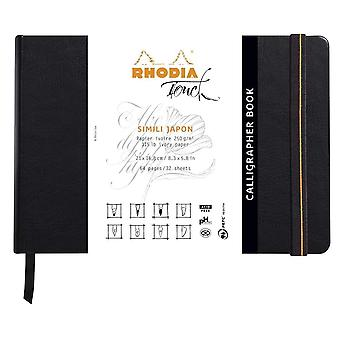 Clairefontaine Rhodia Touch A5 Simili Japon Calligrapher Sketch Book