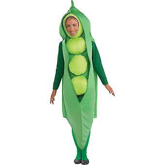 Peas Adult Costume