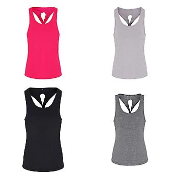 TriDri Womens/Ladies Yoga Knot Vest