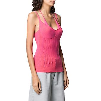 Jacquemus 201kn1620151451 Women's Pink Viscose Top