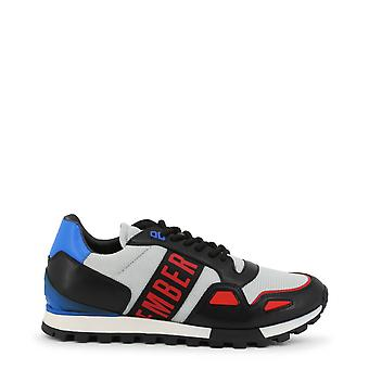 Bikkembergs الرجال الأصلي كل سنة أحذية رياضية - اللون الرمادي 35324