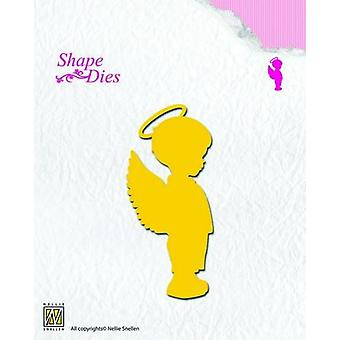 Nellie's Choice Shape Die - angel boy SD073