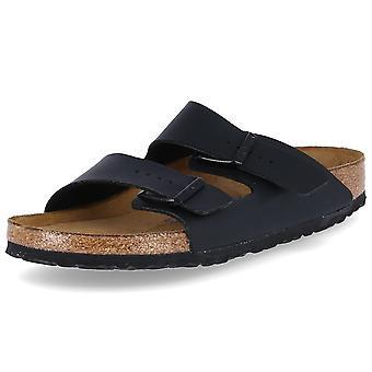 Birkenstock Arizona 551253ARIZONASFBBLACK chaussures universelles pour femmes d'été
