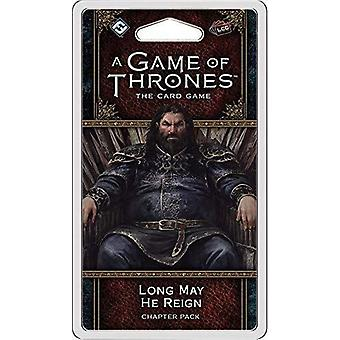 Long May He Reign A Game of Thrones LCG 2nd Edition