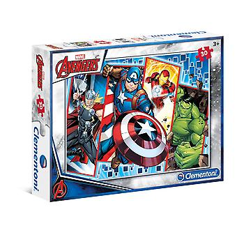 Clementoni Marvel Avengers 30 Pieces Supercolor Puzzle Puzzle