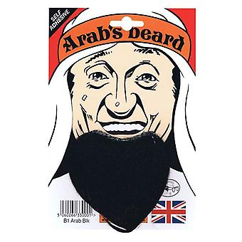 Goatee/Arab Beard. Black