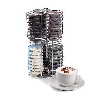 Kabalo Edelstahl 48 Coffee Pod Kapsel Dispenser Ablageständer für Tassimo