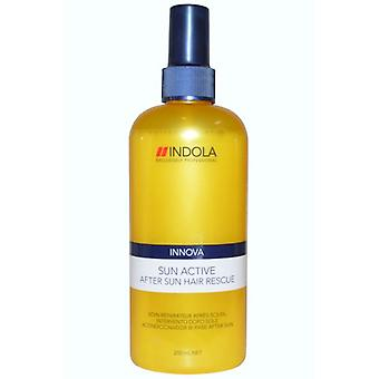 Indola Sun Active nach Sun Hair Rescue 250ml