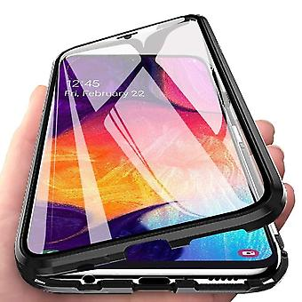 Samsung Galaxy A70 Shell com protetor de tela preto