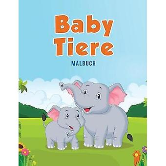 Baby Tiere  Malbuch by Kids & Coloring Pages for
