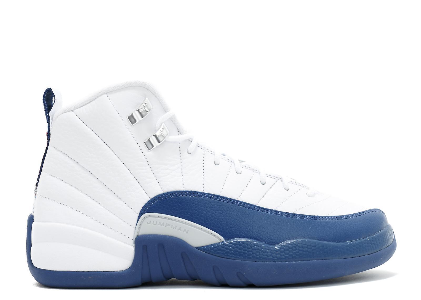 Air Jordan 12 fransk blå Gs Bg-153265-113 - sko