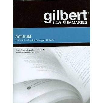 Gilbert Law Résumés on Antitrust par Mark Lemley - 9780314271792 Livre