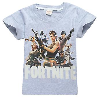 Fortnite T-Shirt for children (Squad, grey)