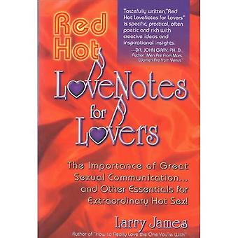 RED HOT LOVE NOTES FOR LOVERS