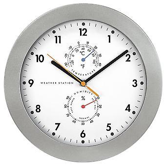 HAMA Wall Clock PG300 Radio Controlled Thermo/Hygro