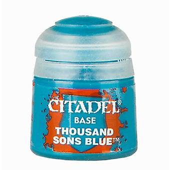 Thousand Sons Blue (12ml), Citadel Paint - Base, Warhammer 40k/Age of Sigmar