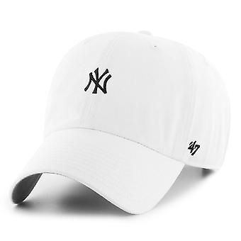 47 Brand Adjustable Cap - BASE New York Yankees white