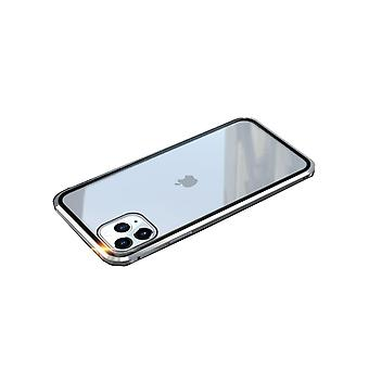 iPhone 11 Pro Max Shell Doppelseitig Silber