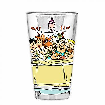 Flintstones 16 Ounce Pint Glass