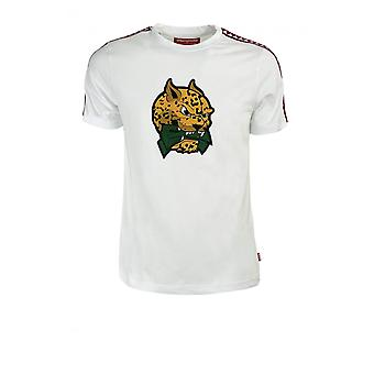 SPRAYGROUND LEOPARD MONEY SPRAYBAND T-SHIRT BLANC