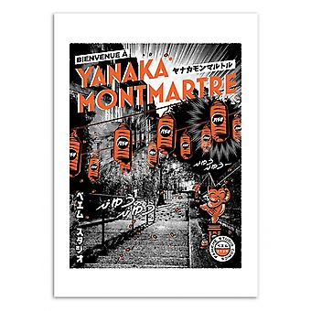 Art-Poster - Tokyo-Paris Montmartre - Paiheme studio