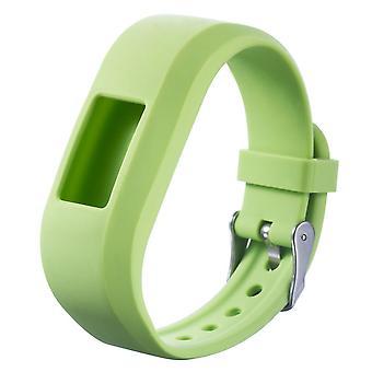 For Garmin Vivofit JR Buckle JR 2 Strap Replacement Wristband Bracelet Band[Green]