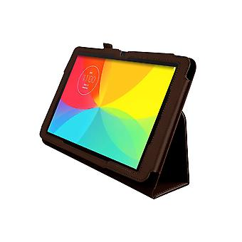 "Magnetic PU Leather Case Cover voor LG G Pad V700 10.1""[Bruin]"