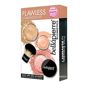 Bellapierre Flawless Complexion Kit - Brush Foundation, Concealer, Blusher