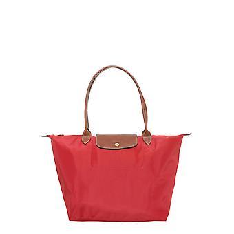 Longchamp 1899089545 Women's Red Nylon Tote