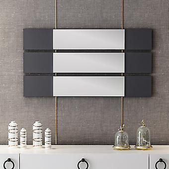 Spiegel Otto Farbe Anthrathitis, Holz in Melaminischem Chip 15x2x90 cm