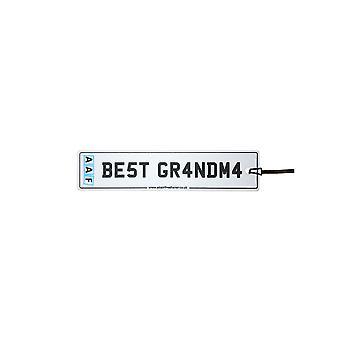 AAF - Best Grandma License Plate Car Air Freshener
