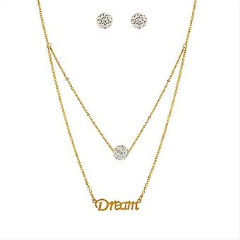 Edforce necklace and pendant 165-0151-S - Women's necklace and pendant